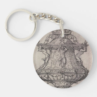 Design for a Table Fountain by Hans Holbein Keychains