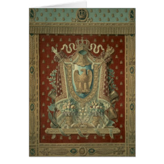Design for a tapestry in Bonaparte's study Card