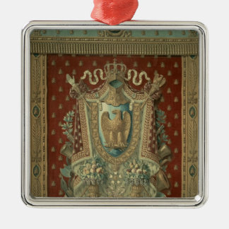 Design for a tapestry in Bonaparte's study Metal Ornament