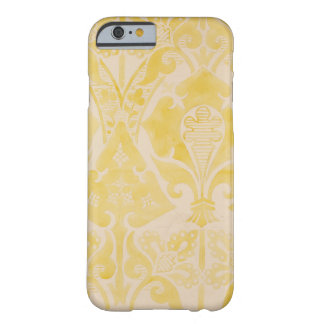 Design for a velvet or silk brocatelle, 1850 (penc barely there iPhone 6 case