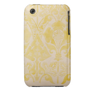 Design for a velvet or silk brocatelle, 1850 (penc Case-Mate iPhone 3 case