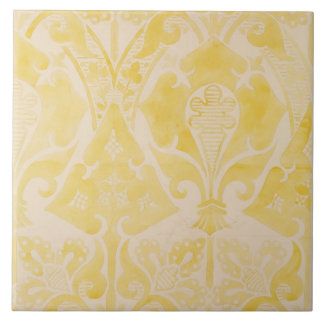 Design for a velvet or silk brocatelle, 1850 (penc ceramic tile