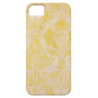 Design for a velvet or silk brocatelle, 1850 (penc iPhone SE/5/5s case