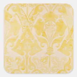 Design for a velvet or silk brocatelle, 1850 (penc square sticker