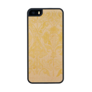Design for a velvet or silk brocatelle, 1850 (penc carved® maple iPhone 5 case