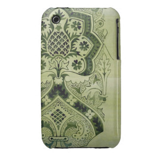 Design for an Ecclesiastical wallpaper print (ink iPhone 3 Case-Mate Case