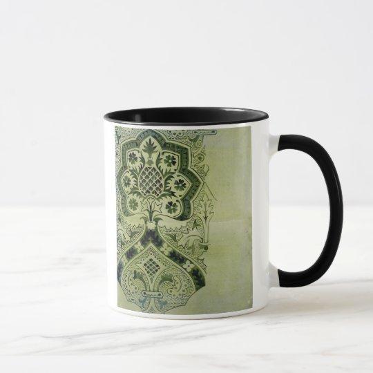 Design for an Ecclesiastical wallpaper print (ink Mug