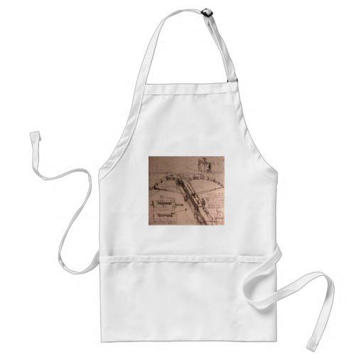 Design for an enormous crossbow adult apron