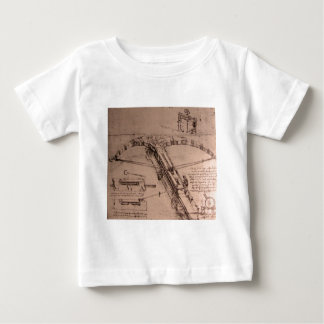 Design for an enormous crossbow shirt