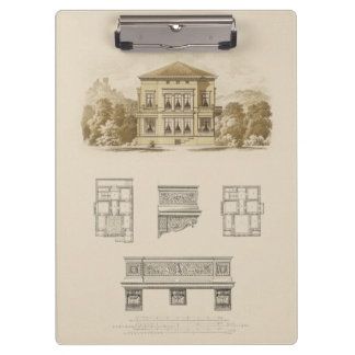 Design for an Estate with Interior Plans Clipboard