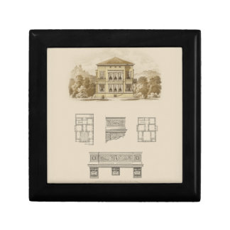 Design for an Estate with Interior Plans Gift Box