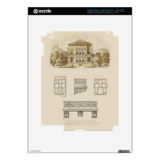 Design for an Estate with Interior Plans iPad 3 Skin