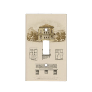 Design for an Estate with Interior Plans Light Switch Cover