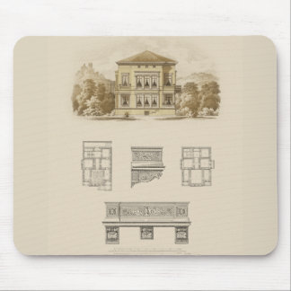 Design for an Estate with Interior Plans Mouse Pad