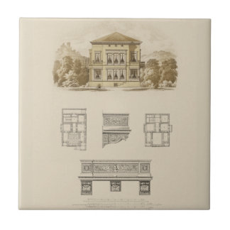 Design for an Estate with Interior Plans Tile