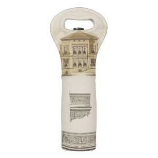 Design for an Estate with Interior Plans Wine Bag
