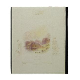 Design for an illustration for Walter Scott's 'Lad iPad Case