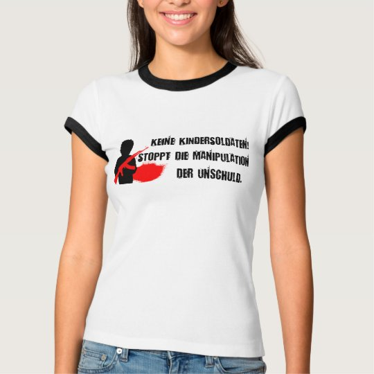 Design for child rights: No child soldiers! T-Shirt