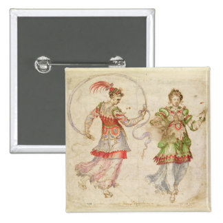 Design for Costumes, probably in the Florentine In Button