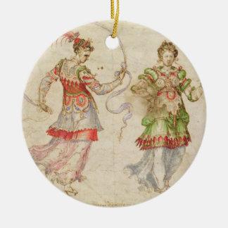 Design for Costumes, probably in the Florentine In Ceramic Ornament