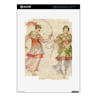 Design for Costumes, probably in the Florentine In iPad 3 Skin