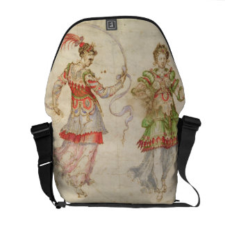Design for Costumes, probably in the Florentine In Messenger Bag