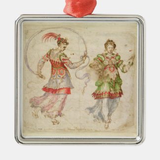Design for Costumes, probably in the Florentine In Metal Ornament