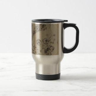 Design for Fantasy Branches of Flowers Travel Mug
