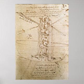Design for Flying Machine Poster