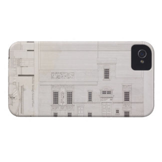 Design for House & Studio for J.A.M. Whistler Esq, iPhone 4 Case