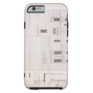 Design for House & Studio for J.A.M. Whistler Esq, Tough iPhone 6 Case