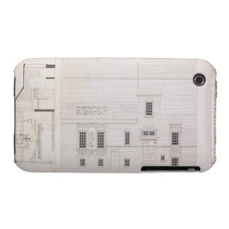 Design for House & Studio for J.A.M. Whistler Esq, Case-Mate iPhone 3 Case
