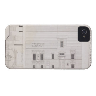 Design for House & Studio for J.A.M. Whistler Esq, iPhone 4 Cases