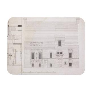Design for House & Studio for J.A.M. Whistler Esq, Magnet