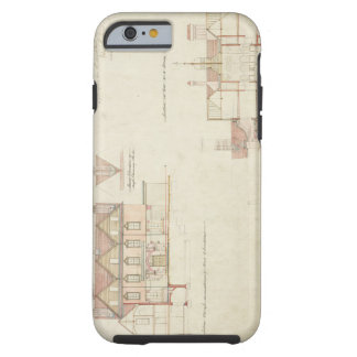 Design for Joldwyns, Surrey, 1872 (pen & ink and w Tough iPhone 6 Case