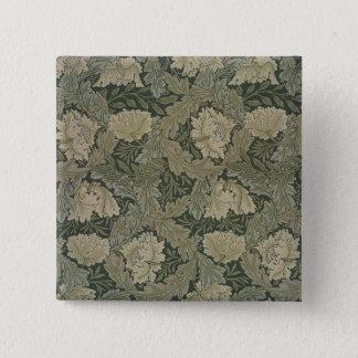 Design for 'Lea' wallpaper, 1885 Button