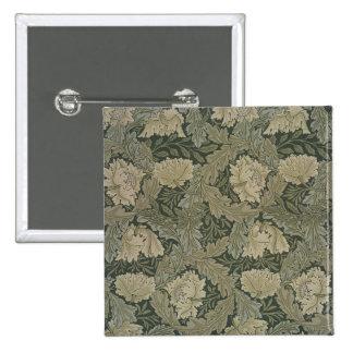 Design for Lea wallpaper 1885 Button