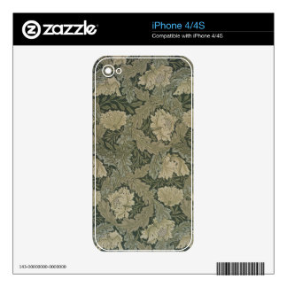 Design for 'Lea' wallpaper, 1885 Skins For iPhone 4S