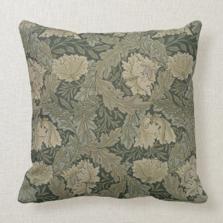 Design for 'Lea' wallpaper, 1885 Throw Pillow