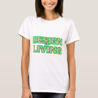 Design for Living Ladies Tee sobercards.com