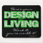 Design for Living mousepad from sobercards.com