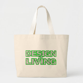 Design for Living Tote Bag www.sobercards.com
