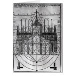 Design for Milan Cathedral Card