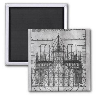 Design for Milan Cathedral Magnet