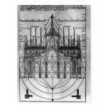 Design for Milan Cathedral Postcard