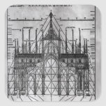 Design for Milan Cathedral Square Sticker