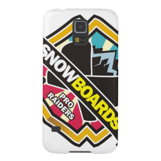 Design for Raider Snowboarding Galaxy S5 Case