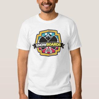 Design for Raider Snowboarding T Shirt