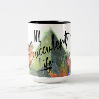 Design For serenity Jumbo Mug. Two-Tone Coffee Mug