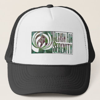 Design For Serenity trucker hat